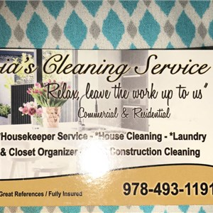 Livia s Cleaning Service Logo