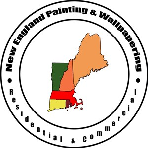 New England Painting & Wallpapering Logo