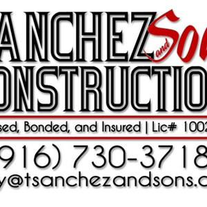 Sanchez And Sons Construction Logo