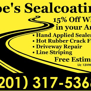 Joes Sealcoating Logo