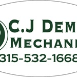 C.j Demars Mechanical Logo