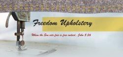 Freedom Upholstery Logo