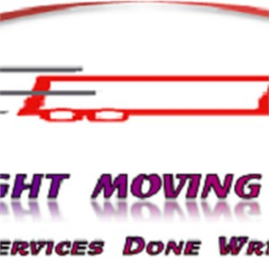 All Wright Moving Company Logo