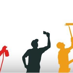 Top Gun Painting Company Logo
