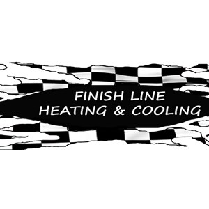 Finish Line Heating and Cooling Logo