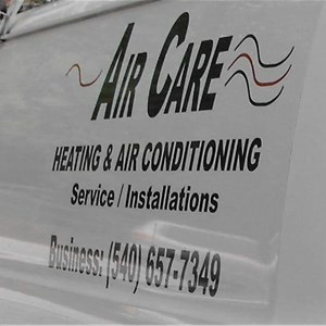 Air Care Heating and Air Conditioning Logo