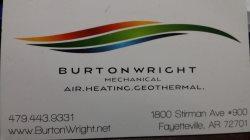 Burtonwright Mechanical Logo