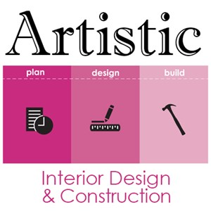 Artistic Interior Design & Construction Logo