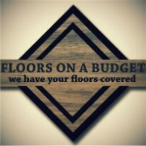 Floors On A Budget LLC. Logo
