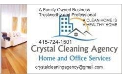 Crystal Cleaning Agency Logo