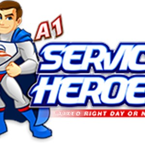 A #1 Services Heating & Air Conditioning Logo
