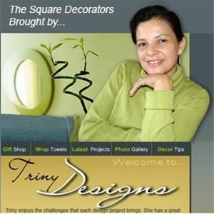 The Square Decorators Logo