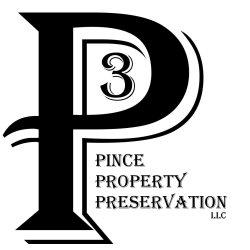 Pince Property Preservation, LLC (P3) Logo