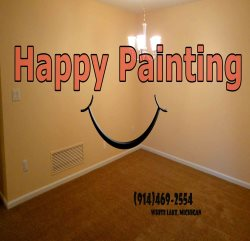 Happy Painting LLC Logo