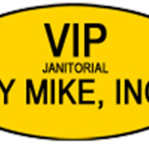 Vip Janitorial By Mike, Inc. Logo
