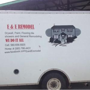 E&E Remodel Logo