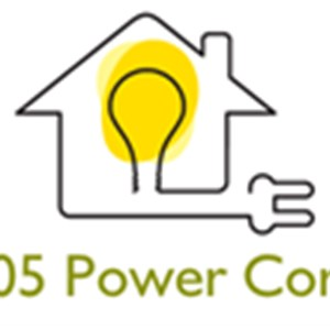 305 Power Corp Electrical Contractor Logo
