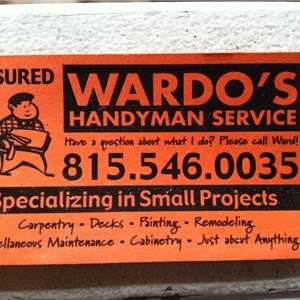 Wardos Handyman Svc Logo