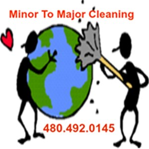 Minor To Major Cleaning Logo