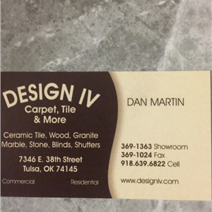 Design IV Carpet & Tile Logo