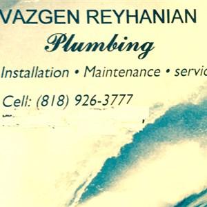 V.R. Plumbing Logo