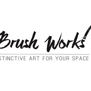 Brush works by JT Logo