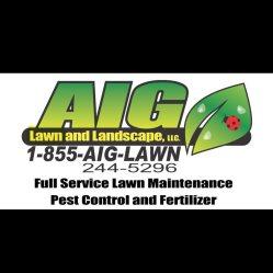 AIG Lawn and Landscape Logo