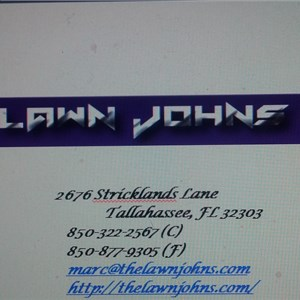 The Lawn Johns LLC Logo