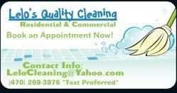Lelos Quality Cleaning Logo