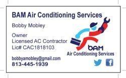 Bam Air Conditioning Logo