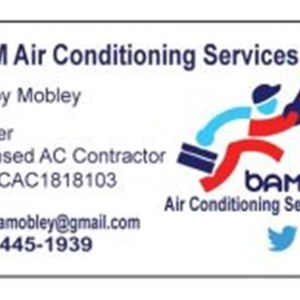 Bam Air Conditioning Logo