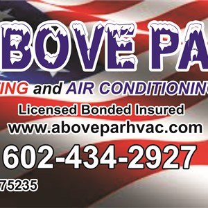 Above Par Heating & Air Conditioning, LLC Logo