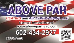 Above Par Heating & Air Conditioning, LLC Logo