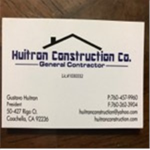Huitron Construction co Logo
