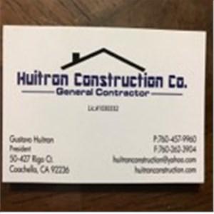 Huitron Construction co Logo