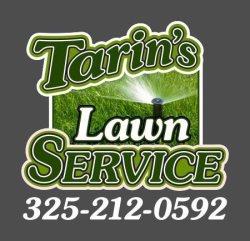 Tarins Lawn Service Logo