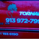 Tornado Lawn and Tree Service Logo