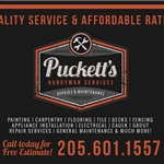 Pucketts Handyman Services Logo