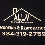 All-V Roofing and Restoration Logo