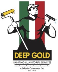 Deep Gold Painting Company Logo