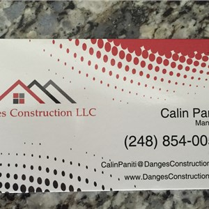 Danges Construction LLC Logo