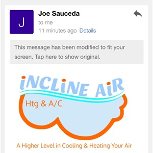 Incline Air Heating & A/C Logo