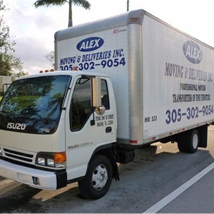 Alex Moving & Deliveries Logo