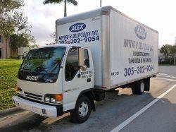 Alex Moving & Deliveries Logo