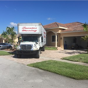 Fuentes Moving Miami Movers Logo