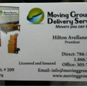 Moving Group & Delivery Services LLC Logo
