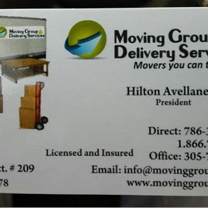 Moving Group & Delivery Services LLC Cover Photo