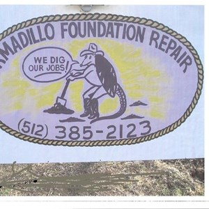 Armadillo Foundation Repair Logo