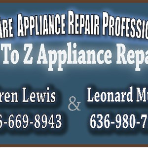 A to Z Appliance Repair Logo
