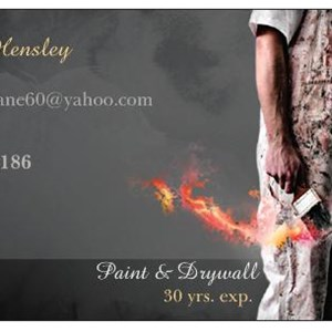 Hensley Painting & Drywall Logo